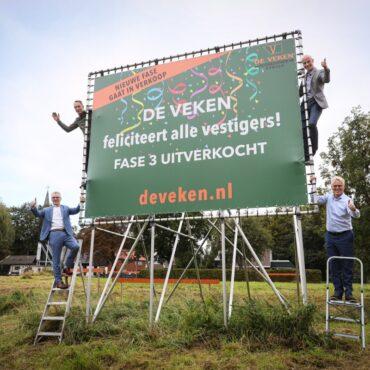 Businesspark De Veken uitverkocht!